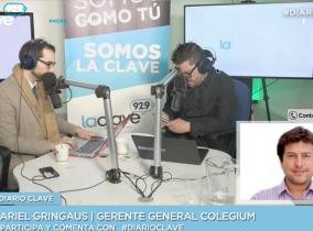 Colegium en Radio La Clave difundiendo #VotoXAprender