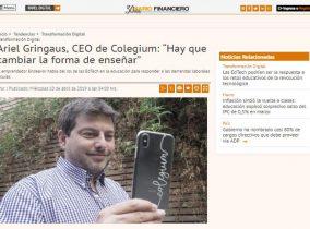 Colegium en el Diario Financiero