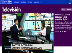 Colegium en El Financiero TV México