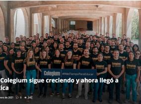 ¡Colegium debutó en los medios de Costa Rica con su  software de educación escolar