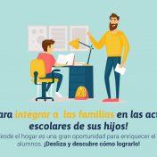 ¡4 Tips para integrar a  las familias en las actividades escolares de sus hijos!