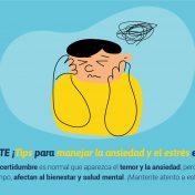 Saludable-MENTE  ¡Tips para manejar la ansiedad y el estrés en niños y niñas!