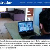 ¡Estuvimos en El Mostrador destacando la importancia de las plataformas de gestión escolar!